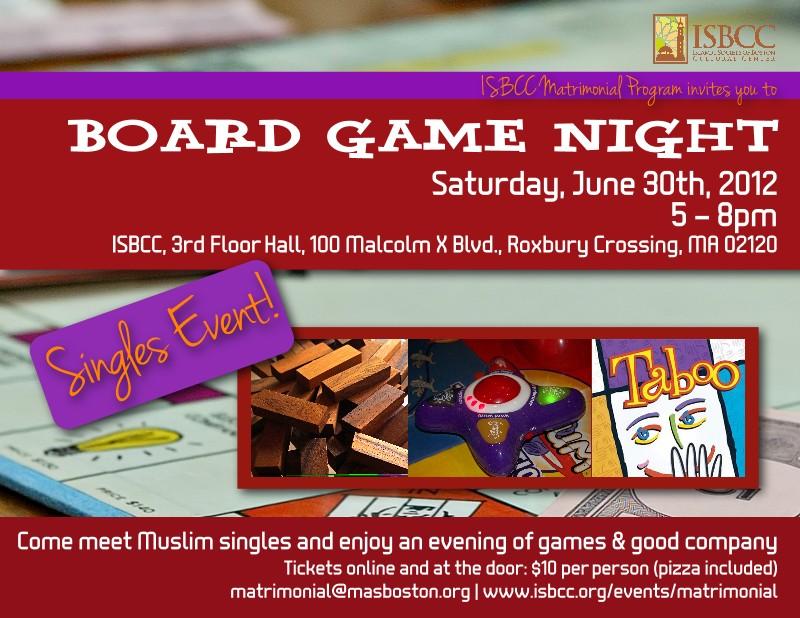 Board Game Night Logo Event Board Game Night